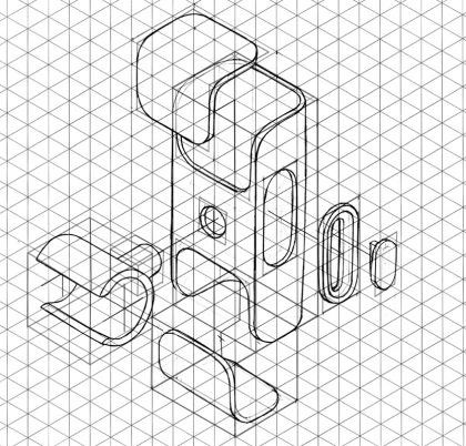 how to make isometric view in rhino